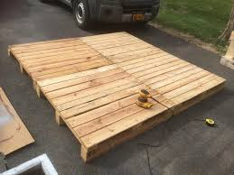 Making A Platform Bed Out Of Pallets by How To Make A Platform Bed Image Of Homemade Platform Bed Plans