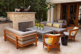 Outdoor Fireplace Patio Modern Outdoor Fireplace Patio Contemporary With Sofa Sets5