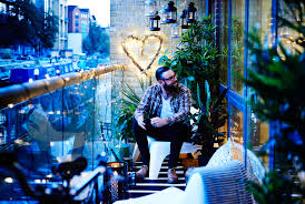 Fairy Lights Ikea by Make Your Small City Balcony An Oasis Of Relaxation