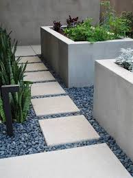 garden and lawn concrete garden planters square concrete