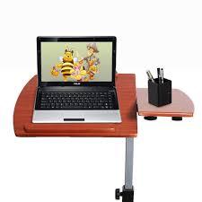 Laptop Adjustable Desk by Angle Height Adjustable Rolling Laptop Desk Over Bed Hospital