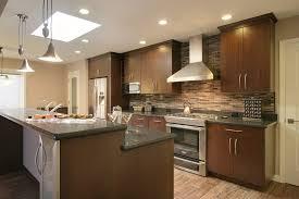 Brick Tile Backsplash Kitchen Robinson Veneer Brick Backsplash Kitchen Contemporary With Kitchen