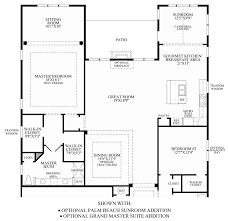 master suite floor plan regency at the marshall home design