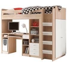 lits mezzanine avec bureau lit en hauteur enfant 7 ensemble lit mezzanine avec bureau
