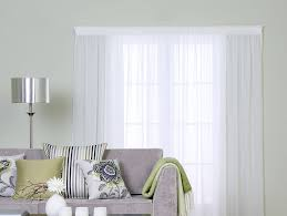 chalet white ready made voile curtains with regard to voile sheer