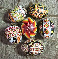 blown easter eggs handmade real ukrainian pysanka blown easter egg set of 6 eggs