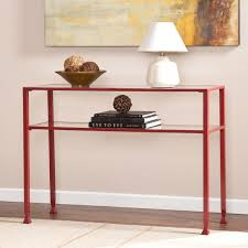 robinwood 3 drawer console table add an element of marvel to your home with this colorful upton home
