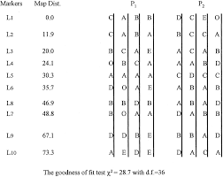 Linkage Map Construction Of A Genetic Linkage Map In Tetraploid Species Using