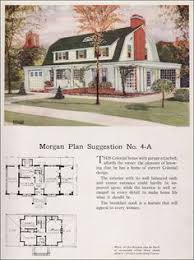 colonial revival house plans 1923 classic colonial revival traditional house plan