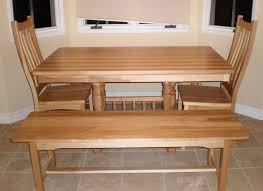 Kitchen Tables And Benches by Handcrafted Kitchen Nook Tables From Erik Organic