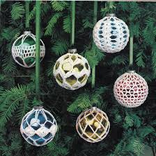 crochet ornament covers vintage crocheting pdf