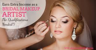bridal makeup classes become a bridal makeup artist earn income disease called debt