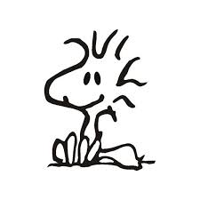 woodstock painting colouring pages 2 snoopy
