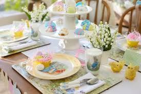 Easter Breakfast Table Decorations by Inspiration For Easter Talk Of The House