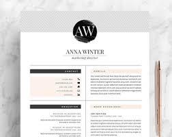 reference resume minimalist backgrounds for kids elegant resume etsy