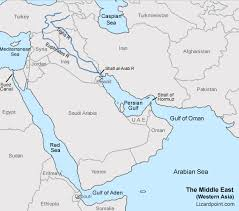 middle east map gulf of oman test your geography knowledge middle east bodies of water quiz