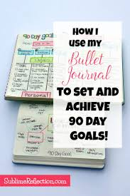 tony robbins rpm planner template 66 best goal setting stuff images on pinterest project how i use my bullet journal to set and achieve 90 day goals