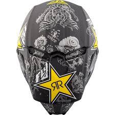 rockstar motocross helmet fly racing 2018 elite rockstar motocross helmet mx quad atv dot ece