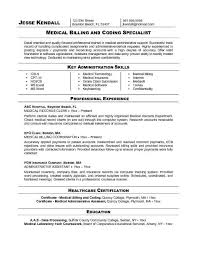 cover letter for medical billing and coding cover letter for