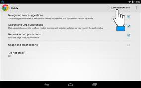 how to clear search history on android guide to clear browser history on android