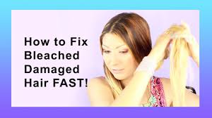infusium for bleached hair how to repair bleached damaged hair youtube