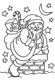 santa coloring bone dog christmas coloring