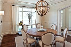 amazing dining room light for round table with elegant beige