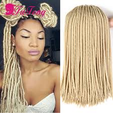 Long Synthetic Hair Extensions by Faux Locs Crochet Twist Braids Synthetic Hair Extensions Braiding