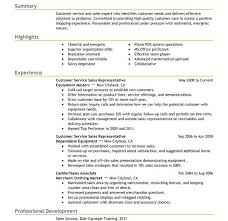 customer service representative resume template resume template