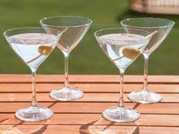 unbreakable martini glass set barluxe ahalife