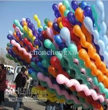 wholesale toys balloon spiral balloons for wedding birthday