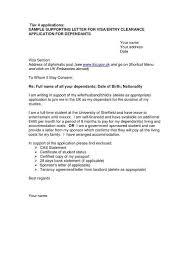 sample letter for immigration sponsorship sample visa sponsorship
