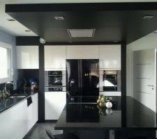 cuisine du frigo photos et idées cuisine avec frigo américain 687 photos