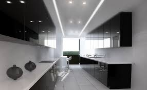 Black And White Kitchen Cabinets Pictures Brilliant Modern Kitchen Black And White In With Wood Elements