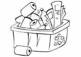litter recycle coloring pages gekimoe u2022 57045
