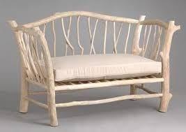 canapé bois flotté canape en bois flotté decoration ethnique