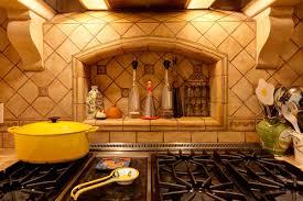 Spices Mediterranean Kitchen - stone kitchen backsplash mediterranean kitchen a better home