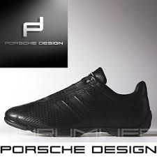 Adidas Porsche Design Shoes Drive Pilot Mens Leather Black Bounce Uk