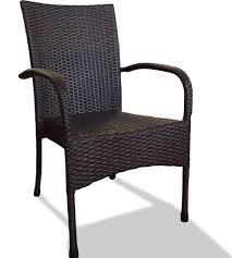 White Plastic Wicker Patio Furniture - design ideas for black wicker outdoor furnitur 20689