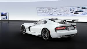 Dodge Viper White - the new dodge viper 1 of 1 online customizer is here amf
