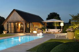 poolhouse cottage bogarden schuur pinterest tiny houses