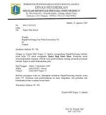 format artikel yang benar format baru contoh surat dinas resmi sekolah yang benar
