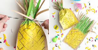 Favor Bags by How To Make Pineapple Favor Bags Diy Crafts Handimania