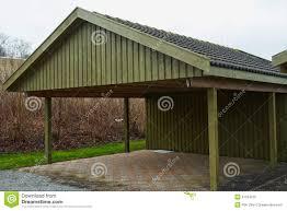 modern carport car garage parking royalty free stock photo image