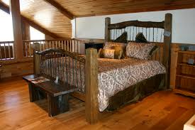 Rustic Wooden Beds Reclaimed Wood Beds For Sale By Big Timberworks