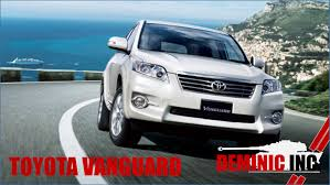 toyota vanguard for sales in singapore user manual guide pdf