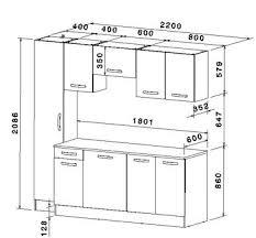 cuisine taille taille standard meuble cuisine 5 les 25 meilleures id es de la cat