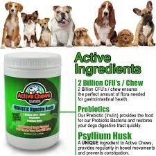 active chews probiotic digestive health treats active chews