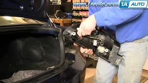 2005 dodge stratus brake light bulb how to install replace taillight assembly and bulb dodge intrepid 98