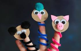 diy animal finger puppets crafts for kids pbs parents pbs